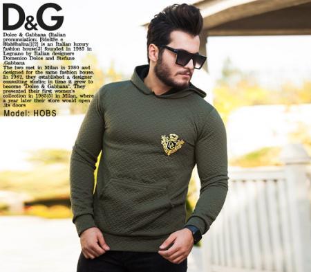 سویشرت مردانه مدل Hobs(سبز)