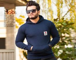 سویشرت مردانه مدل Hobs(سورمه ای)