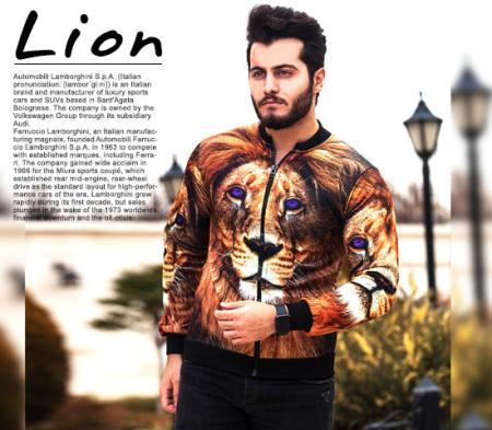 سویشرت مردانه مدل Lion
