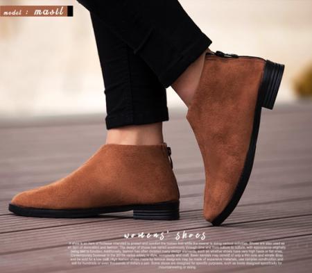 کفش دخترانه مدل Masil (قهوه ای)