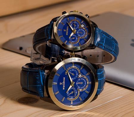 ست ساعت مچی ROMANSON مدل Nelka (آبی) -