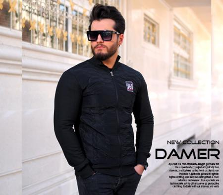 کاپشن مردانه مدل Damer