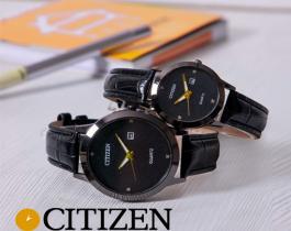 ست ساعت  Citizen مدل Mark(تمام مشکی) -
