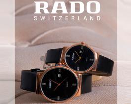 ست ساعت مچی RADO مدل Carli (بند مشکی) -