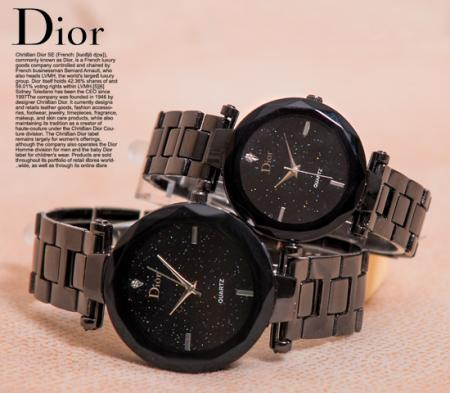 ست ساعت مچی مدل Dior(مشکی)