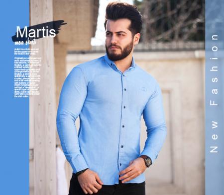 پیراهن مردانه  مدل Martis