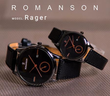ست ساعت مچی Romanson مدل Rager (صفحه مشکی)