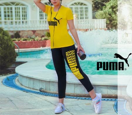 ست تیشرت و شلوار دخترانه Puma مدل Melisa