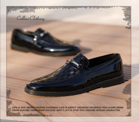 کفش مجلسی مردانه مدل Zinbo