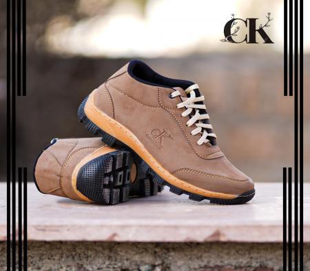 کفش مردانه CK مدل Norbert(کاراملی)