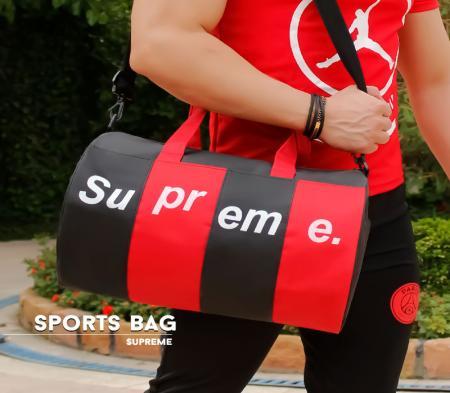 ساک ورزشی مدل Supreme (مشکی قرمز)