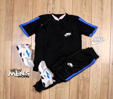 ست تیشرت شلوار Nike مدل Fennec (آبی)
