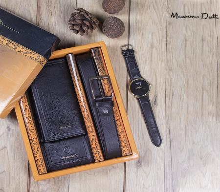ست کیف و کمربند Mamimod(مشکی)