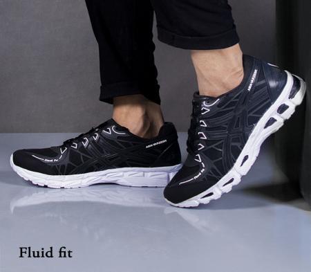 کفش مردانه مدل Fluid fit(مشکی)