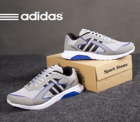 کفش مردانه adidasمدل Lazio(طوسی مشکی)